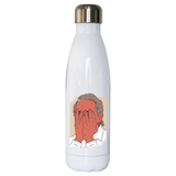 Facepalm man funny water bottle stainless steel reusable
