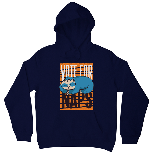 Funny sloth quote napping hoodie - Graphic Gear