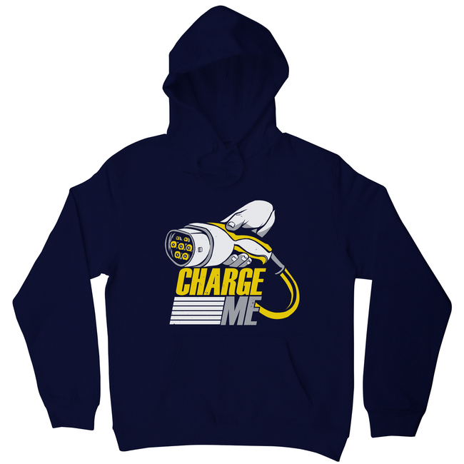 Electric car quote hoodie - Graphic Gear