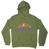 Girl power quote hoodie - Graphic Gear