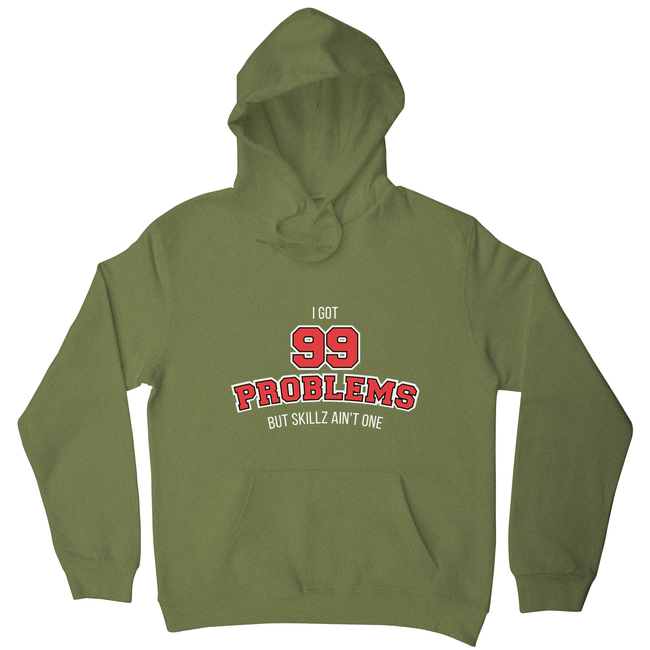 99 problems sports hoodie