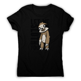 Creepy sloth women's t-shirt - Graphic Gear