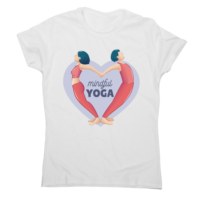 Mindful yoga women's t-shirt