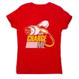 Electric car quote women's t-shirt