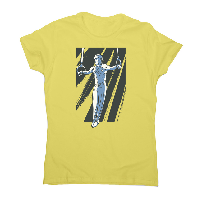 Iron cross gymnast women's t-shirt