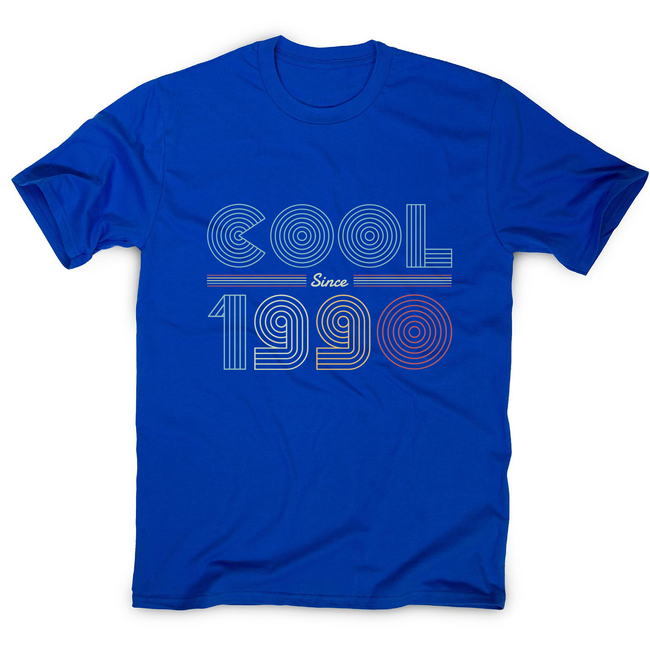 Cool since 1990 men's t-shirt