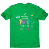 School teacher quote men's t-shirt