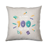 School teacher quote cushion cover pillowcase linen home decor - Graphic Gear