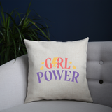 Girl power quote cushion cover pillowcase linen home decor