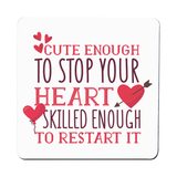 Nurse funny quote coaster drink mat - Graphic Gear