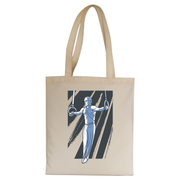 Iron cross gymnast tote bag canvas shopping