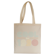 Cool since 1990 tote bag canvas shopping