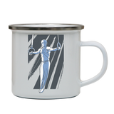 Iron cross gymnast enamel camping mug outdoor cup colors - Graphic Gear