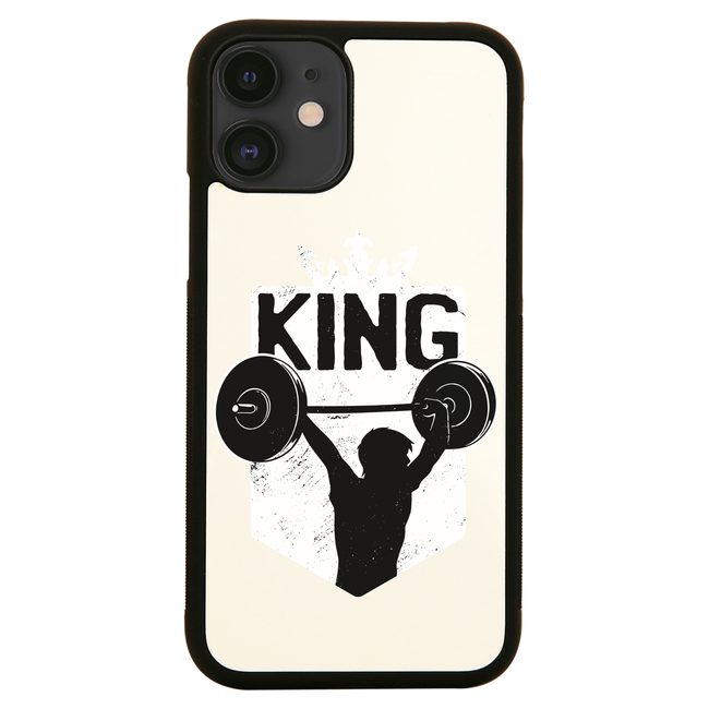 Weightlifting King iPhone case cover 11 11Pro Max XS XR X - Graphic Gear