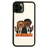 Pug fiction parody dog iPhone case cover 11 11Pro Max XS XR X