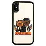 Pug fiction parody dog iPhone case cover 11 11Pro Max XS XR X - Graphic Gear
