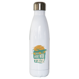 Trip quote water bottle stainless steel reusable
