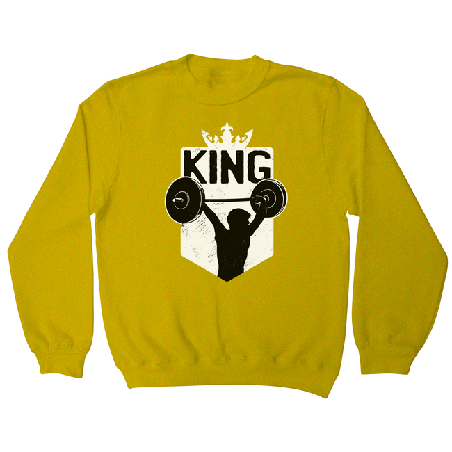 Weightlifting King sweatshirt
