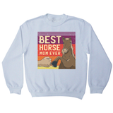 Best horse mom ever sweatshirt - Graphic Gear