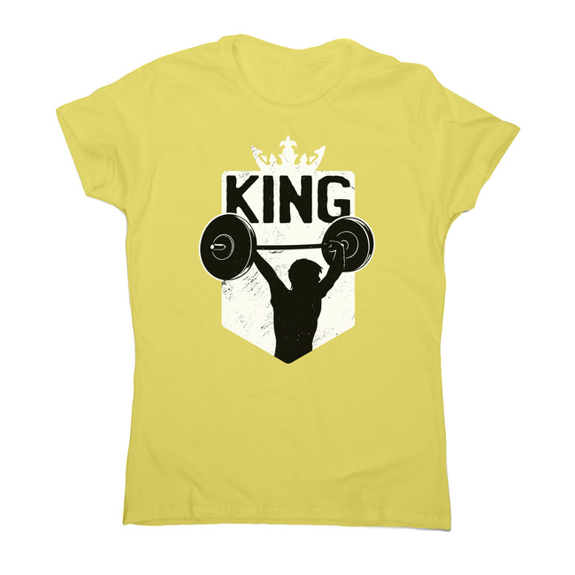 Weightlifting King women's t-shirt - Graphic Gear