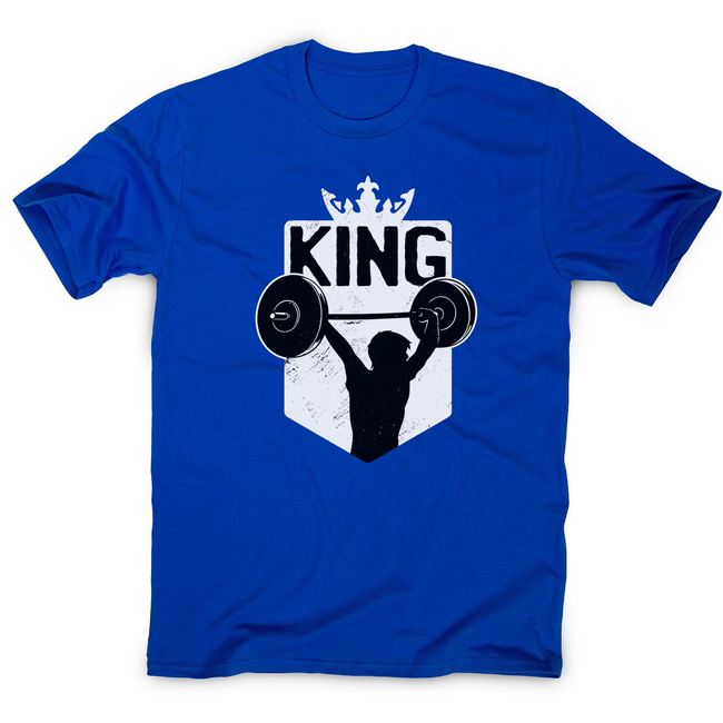 Weightlifting King men's t-shirt