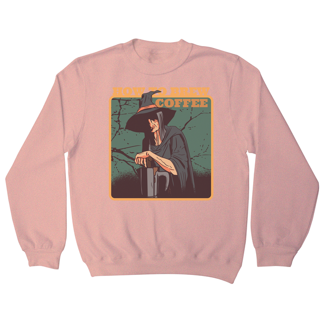 Coffee witch sweatshirt - Graphic Gear