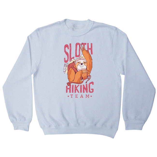 Sloth hiking team sweatshirt - Graphic Gear