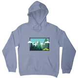 Camp landscape hoodie - Graphic Gear