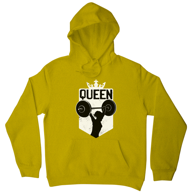 Weightlifting queen hoodie - Graphic Gear