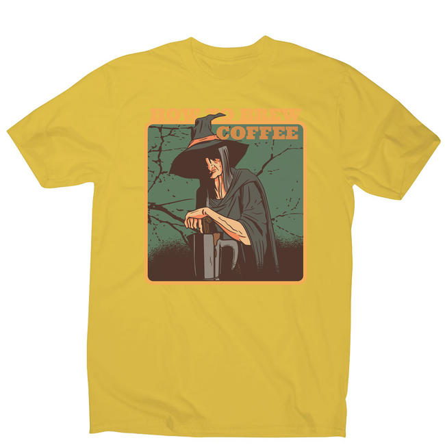 Coffee witch men's t-shirt