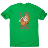Sloth hiking team men's t-shirt - Graphic Gear