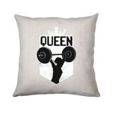 Weightlifting queen cushion cover pillowcase linen home decor