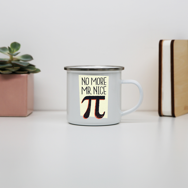Mr nice pi enamel camping mug outdoor cup colors - Graphic Gear