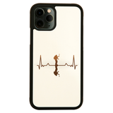 Heartbeat mountaineer iPhone case cover 11 11Pro Max XS XR X