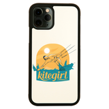 Kite girl iPhone case cover 11 11Pro Max XS XR X - Graphic Gear
