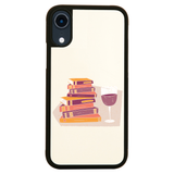 Wine and books iPhone case cover 11 11Pro Max XS XR X