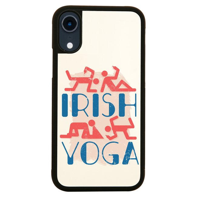 Irish yoga iPhone case cover 11 11Pro Max XS XR X - Graphic Gear