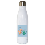 Funny dinosaur unicorn water bottle stainless steel reusable - Graphic Gear
