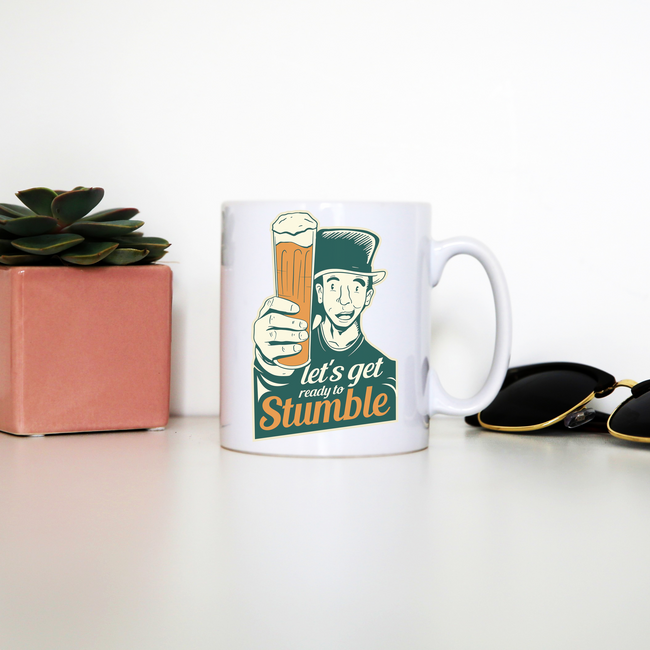 St. Patricks day beer mug coffee tea cup - Graphic Gear