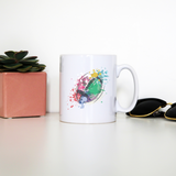 Watercolor rugby ball mug coffee tea cup - Graphic Gear