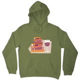 Wine and books hoodie - Graphic Gear