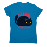 Allergic cat women's t-shirt - Graphic Gear
