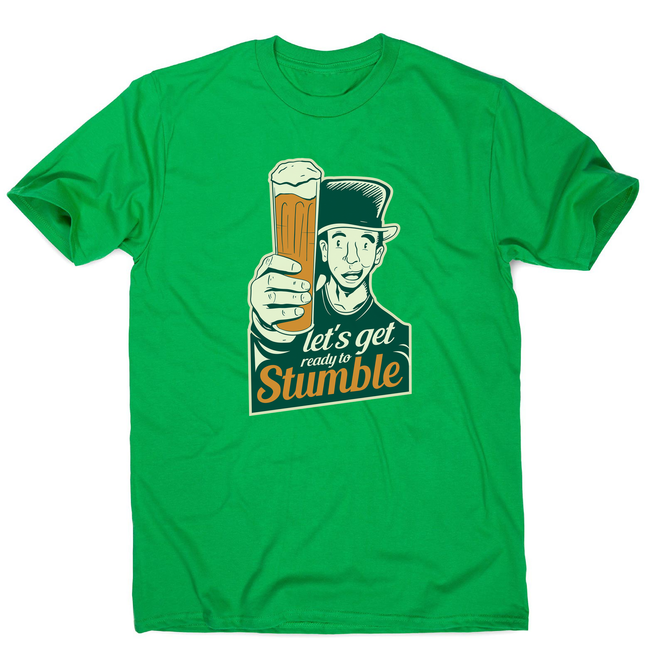 St. Patricks day beer men's t-shirt - Graphic Gear