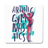 Artistic gymnast coaster drink mat - Graphic Gear