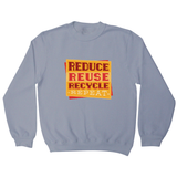 Red recycle sweatshirt - Graphic Gear