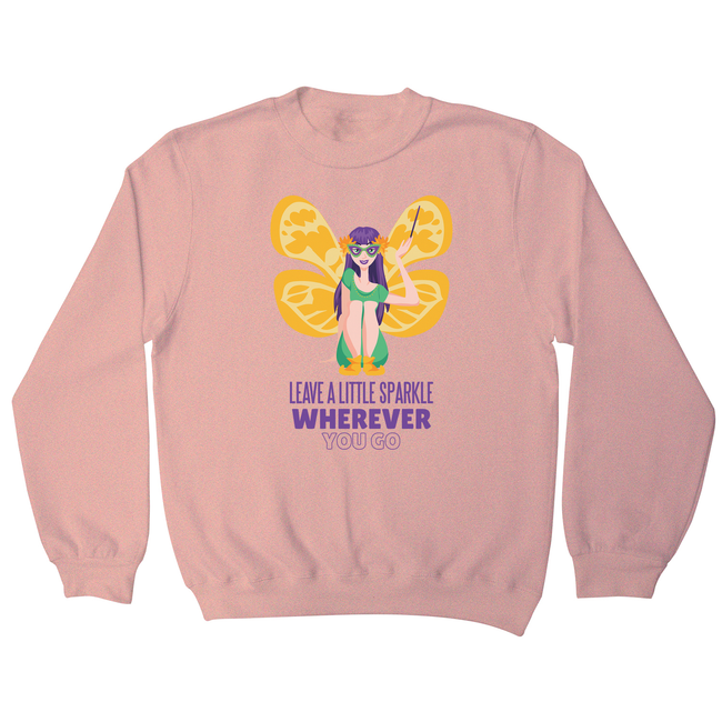 Mardi gras fairy sweatshirt - Graphic Gear