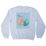 Funny dinosaur unicorn sweatshirt - Graphic Gear