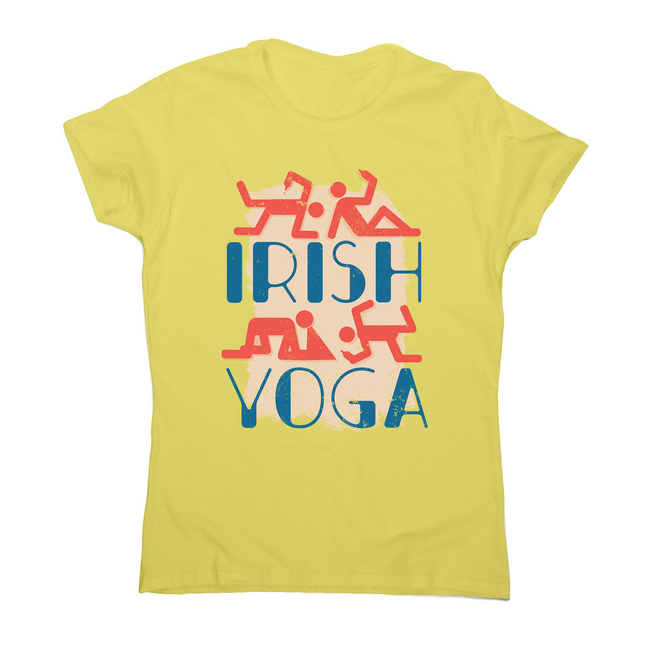 Irish yoga women's t-shirt - Graphic Gear