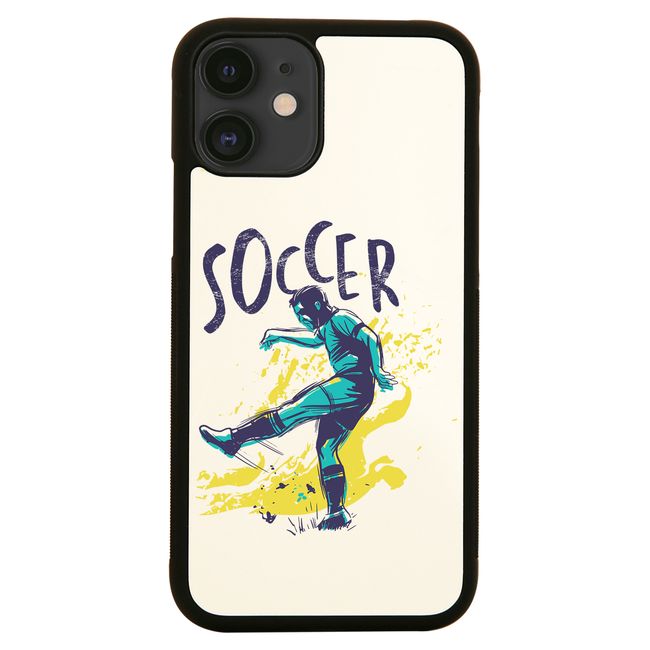 Soccer grunge color iPhone case cover 11 11Pro Max XS XR X - Graphic Gear