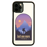 Hiking quote iPhone case cover 11 11Pro Max XS XR X - Graphic Gear